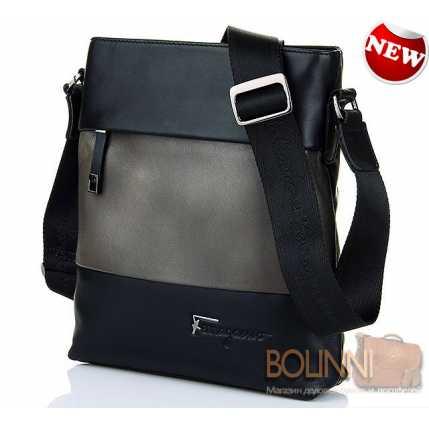 8ef0922918fc Мужские сумки. Купить мужскую сумку через плечо! Salvatore Ferragamo