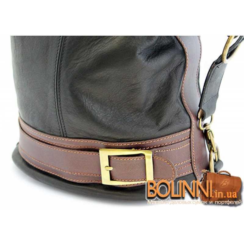 Модная итальянская женская сумка рюкзак Vera Pelle 5072df4e183c6