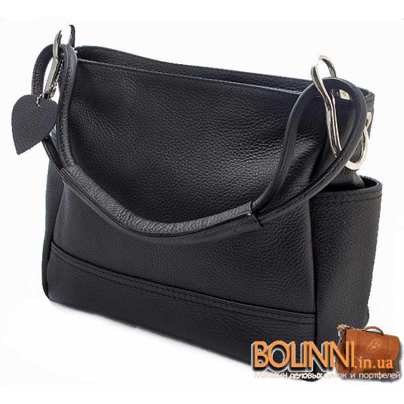 98fe6031030b Каркасная итальянская женская кожаная сумка Vera Pelle