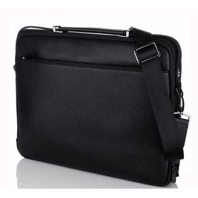 Мужской кожаный портфель кейс Luxon