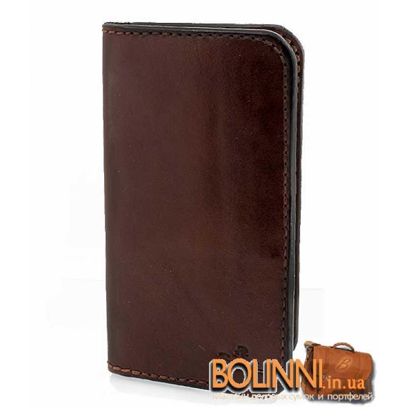 88db1e612a68 Купюрник из кожи мужской ручной работы Bolinni
