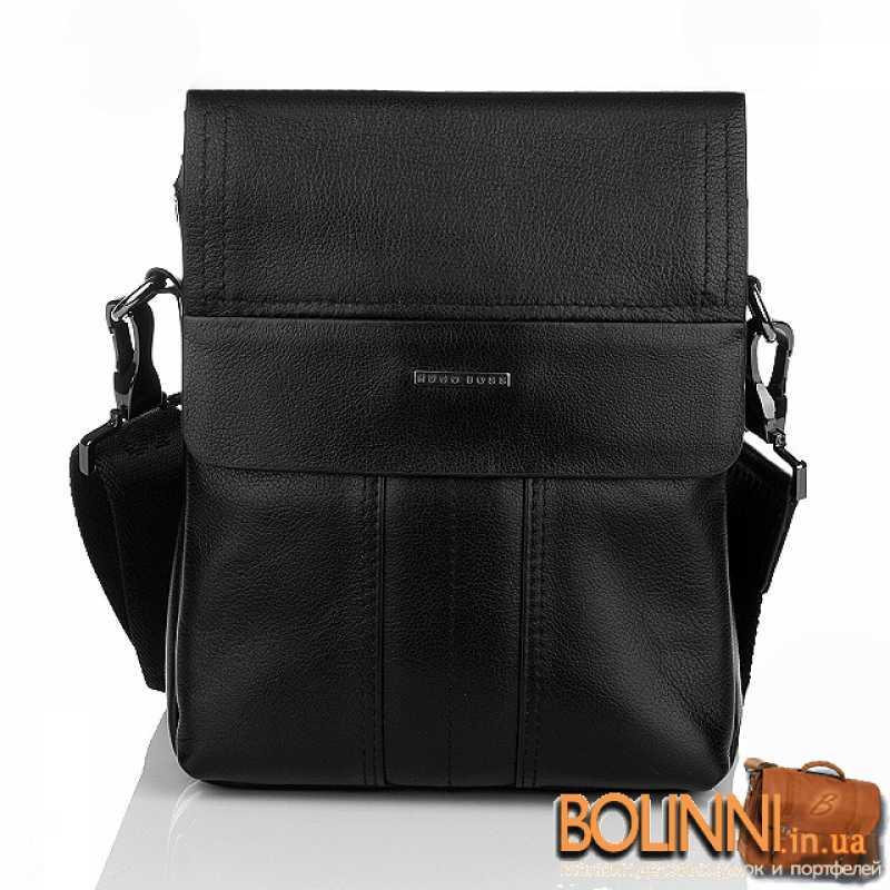 Натуральная кожаная мужская сумка HUGO BOSS ae83779eb65