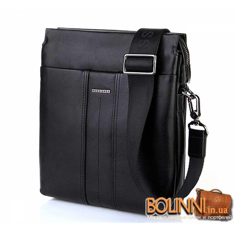 2290668a7ee6 Мужская кожаная сумка Hugo Boss - для настоящих мужчин!