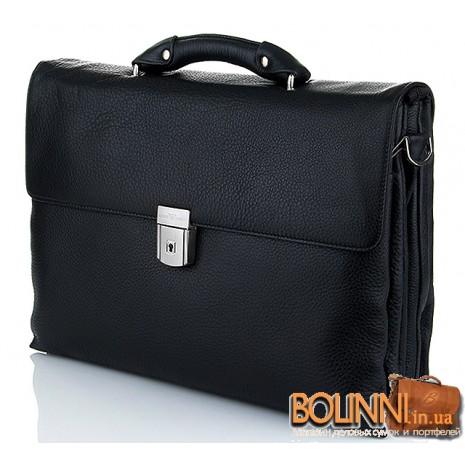 Мужской мягкий портфель для документов Armani