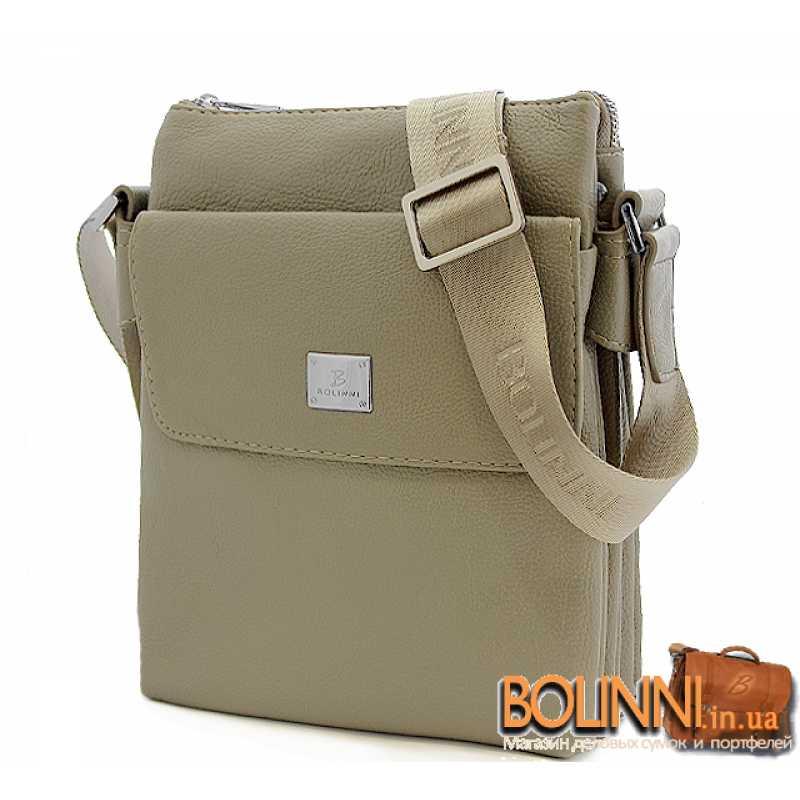 f338b6a8a56f Мужская светлая летняя сумка Bolinni