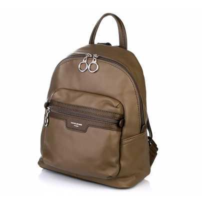 Современный женский рюкзак цвет хаки DAVID JONES