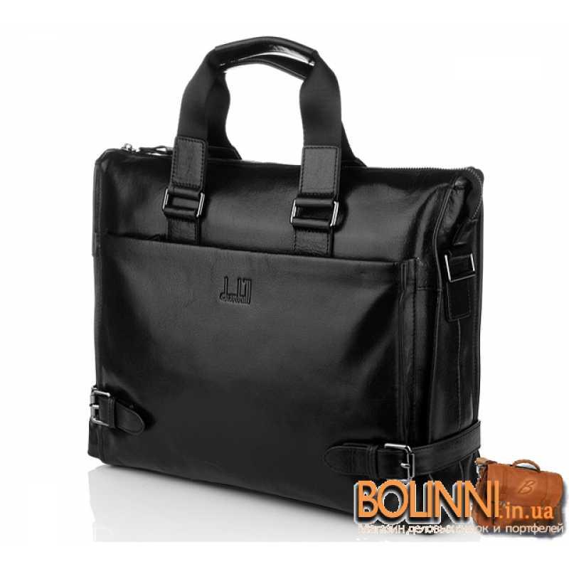 fe8c55bbe43f Кожаная стильная мужская сумка для документов Dunhill