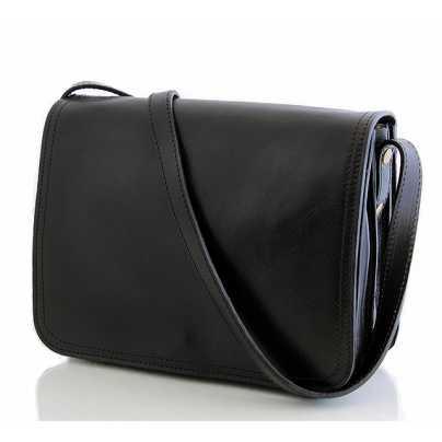 Кожаная мужская сумка через плечо Borsa in Pelle