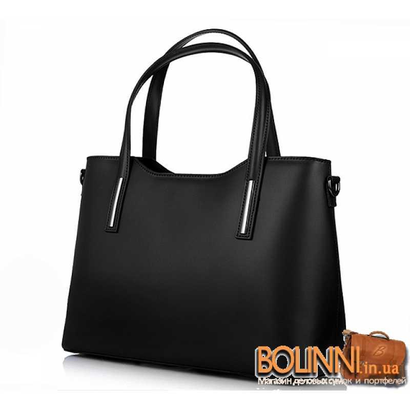 aed77271fe0c Каркасная итальянская женская кожаная сумка Vera Pelle