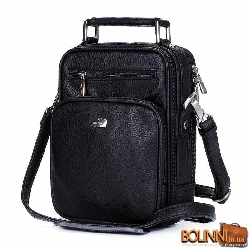 4b8e67439003 Мужская сумка барсетка с металическим каркасом Bolinni
