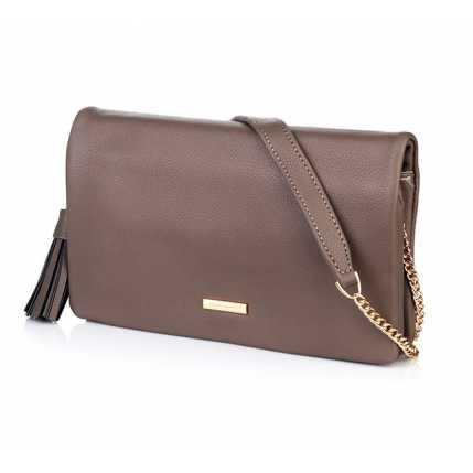 f2f2ab357271 Стильная женская сумка серого цвета для лета DAVID JONES