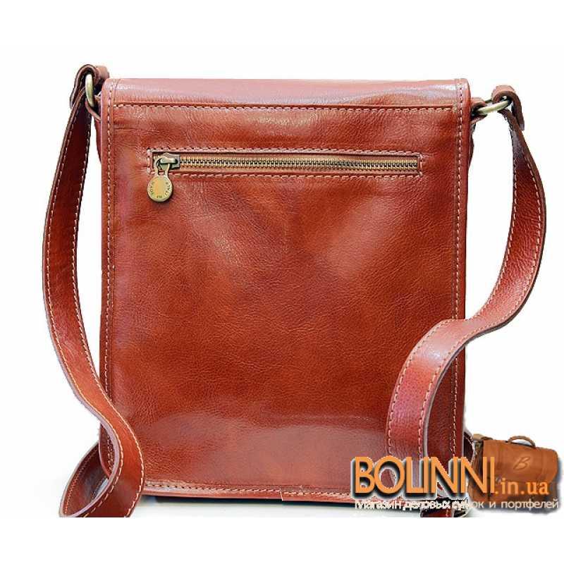 3aab04c913e3 Мужская сумка из натуральной кожи Италия