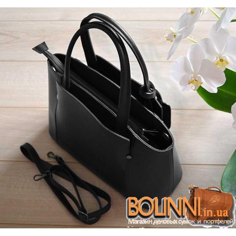 21d30e35a571 Женская итальянская каркасная сумка из кожи Vera Pelle