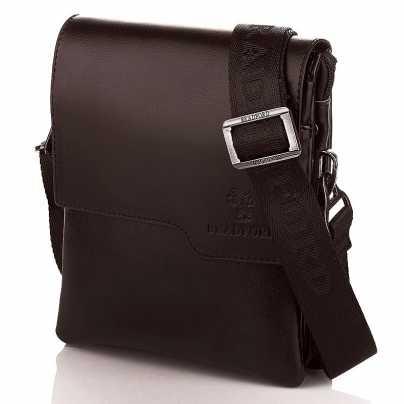 Коричневая маленькая мужская сумка Bradford