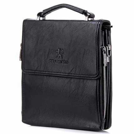 Стильная сумка барсетка черного цвета