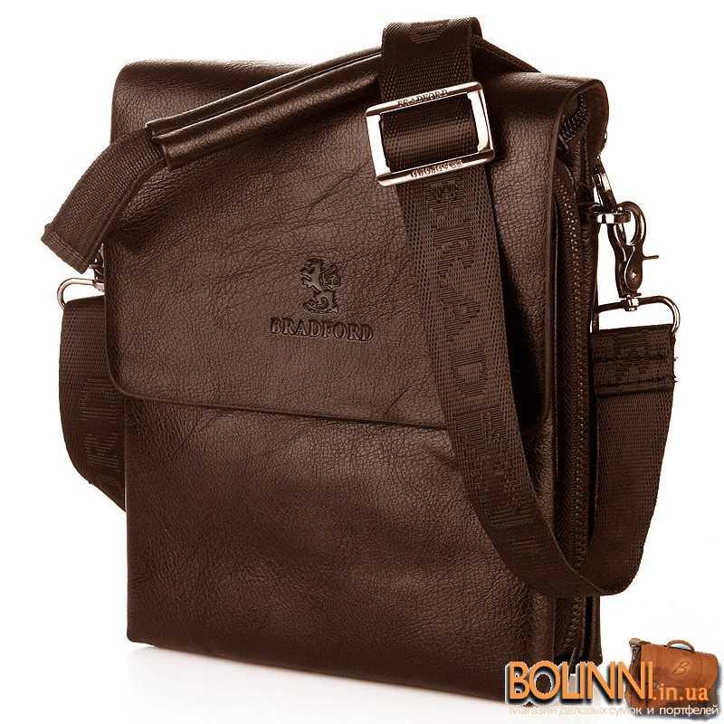 061ddc713fed Недорогая молодежная мужская сумка через плечо Bradford