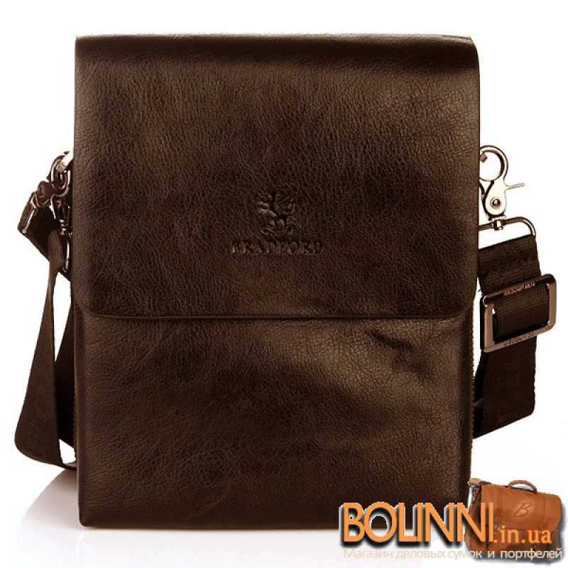 b2d144bb9132 Недорогая молодежная сумка коричневого цвета Bradford ...