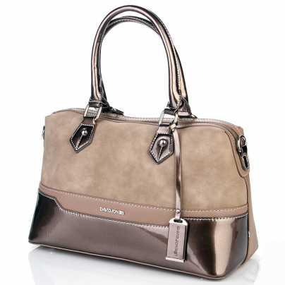 Женская весенняя перламутровая сумка DAVID JONES