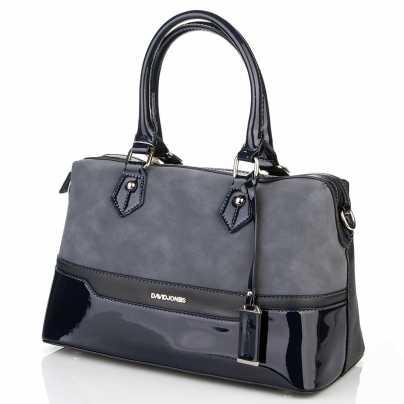 Женская темно-синяя сумка DAVID JONES