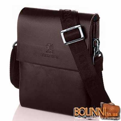 Мужская коричневая сумка барсетка Bradford