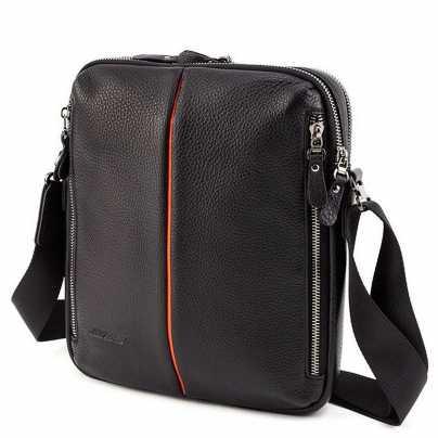 74466b386d79 Мужская брендовая кожаная сумка через плечо Armani