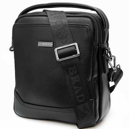 Черная мужская сумка с ручкой Bradford
