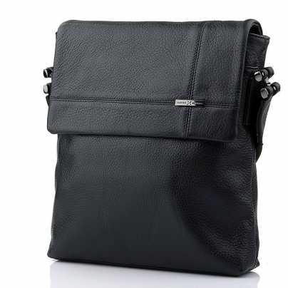 Большая кожаная мужская сумка Luxon