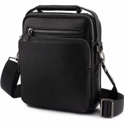 Мужская сумка с металлическим каркасом MC